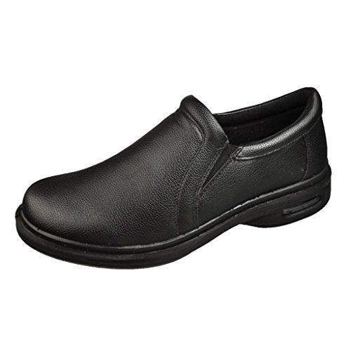 sedagatti s black slip resistant restaurant slip on