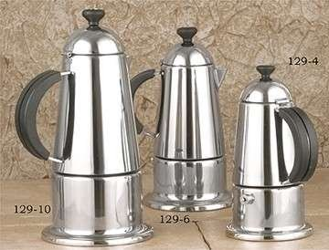 European Gift Carmen Stainless Steel Stove Top Espresso Maker, 6-cup USD 58.21