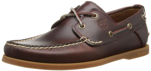 Timberland Heritage CW Boat_Heritage CW Boat 2 Eye, Herren Bootsschuhe, Braun (Rootbeer Smooth), 43 EU