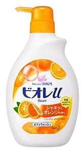 Biore Orange Body Wash by Kao - 550ml