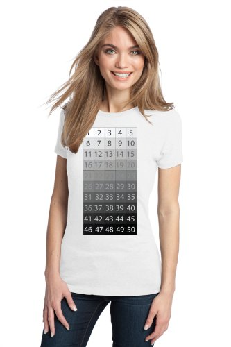 50 SHADES OF GRAY Ladies' T-shirt / Funny Clever Halloween Costume Party Tee Shirt