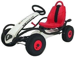 Kettler - 8881-760 - Vélo et Véhicule pour Enfant - Kart à Pédales Silverstone Air - Roues Gonflables - Made in Germany