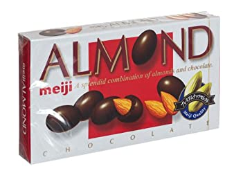 Meiji Choco Almond, 3.10-Ounce Units (Pack of 10)