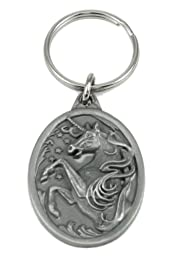 Pewter Key Ring - Unicorn