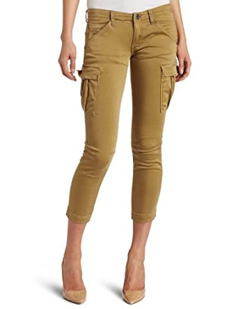 G-Star Raw Women's Trooper Slim Tapered Ankle Pant, Beige, 25x1