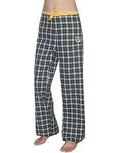 NFL Green Bay Packers WOMENS Plaid Cotton Sleepwear / Pajama Pants
