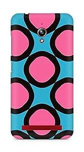 Amez designer printed 3d premium high quality back case cover for Asus Zenfone Go ZC500TG (Geometric Patterns)
