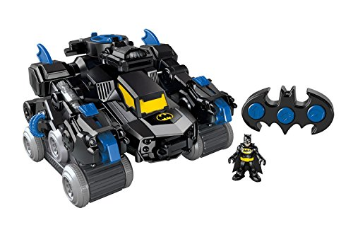 Fisher-Price 费雪 Imaginext DC Super Friends RC Transforming Bat Bot 蝙蝠侠玩具 $49.99(约¥470)图片