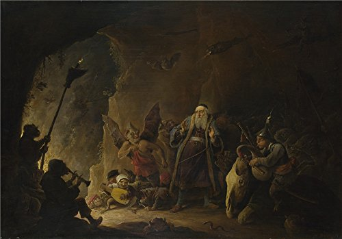 oil-painting-david-teniers-the-younger-the-rich-man-being-led-to-hellabout-1647-18-x-26-inch-46-x-66