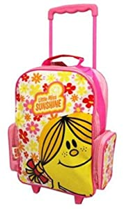 Mr Men Little Miss Wheeled Bag by Trade Mark Collections
