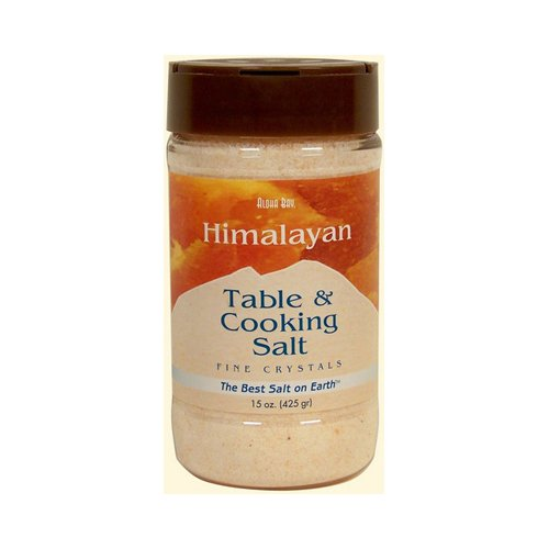 Himalayan Table And Cooking Salt Fine Crystals - 15 oz