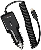 AmazonBasics Lightning Car Charger for iPhone, iPad and iPod (2.1 Amp Output) - Apple certified