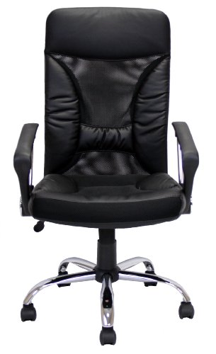 Furinno WA-2511 Hidup High Back Leather Executive 