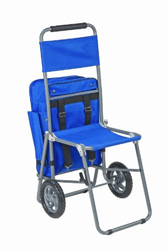 Mabis Dmi Healthcare 3-In-1 Shopping Cart, Blue, One front-319674