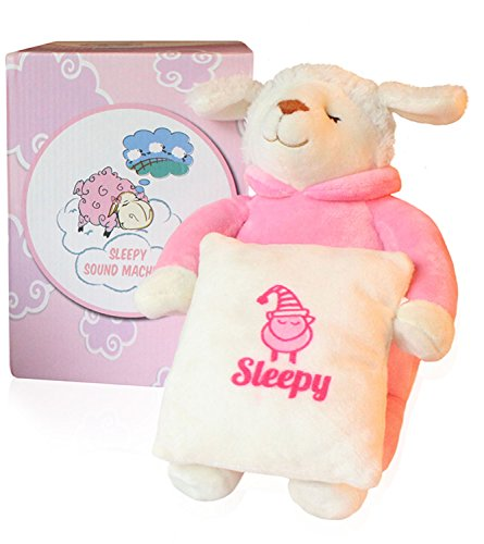 Baby soothing sound machine sleep sheep unique baby shower gift toddler toys soothers - Voice activated baby soother ...
