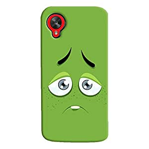 ColourCrust LG Google Nexus 5 Mobile Phone Back Cover With Smiley Expressions Style - Durable Matte Finish Hard Plastic Slim Case