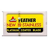 FEATHER 10 Pack Double Edge Blades