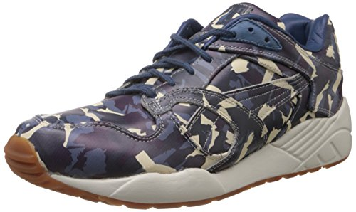 Puma Puma Men's Xs-850 X Bwgh Camo Leather Boat Shoes (Grey)