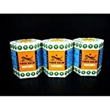 3x 30gr White Tiger Balm - Herbal Medicated - Muscular Analgesic - Ointment - Inhalant