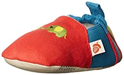 ACORN Toddler Easy-On Moc Slipper (Infant-Toddler-Little Kid-Big Kid),Red,Small (0-6 Months M US Infant)
