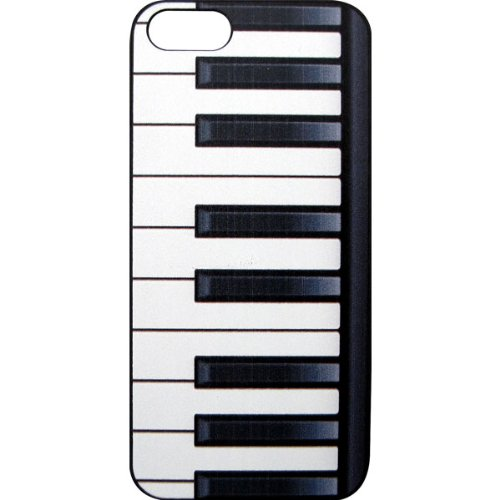 iPhone5ケース 鍵盤 キーボード柄 PIANO KEYS IPHONE 5 CASE