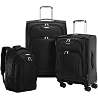 Samsonite Versalite 360 3 Piece Nested Set - Black