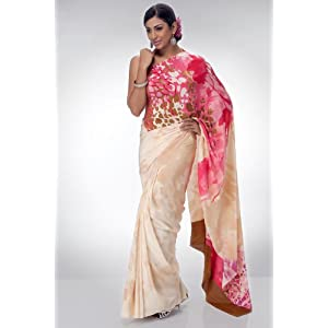 Satya Paul RD5294|Saree|Tussar|Georgette