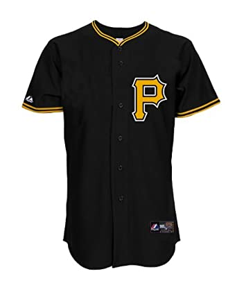 MLB Pittsburgh Pirates Cooperstown Replica Jersey, Black by Majestic
