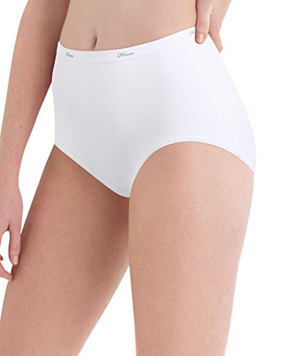 hanes-womens-cotton-brief-panty-white-size-9-pack-of-10