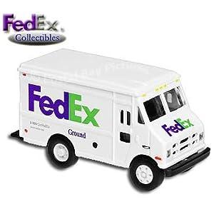 FedEx Die-Cast Model Ground Delivery Step Van Truck (1/64 Scale)