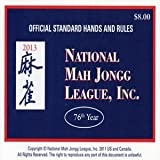 National Mah Jongg League Scorecard (Large) 2013 ~ NATIONAL MAH JONGG LEAGUE
