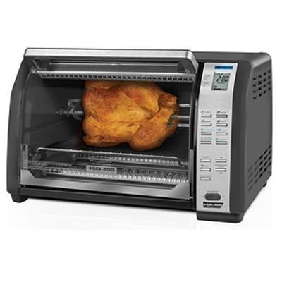 """Black & Decker Cto7100B Rotisserie Grill, 6"""" H X 12"""" W X 12"""" D"""