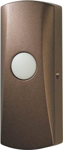 Wireless Doorbell Button - Oil-Rubbed Bronze front-608870