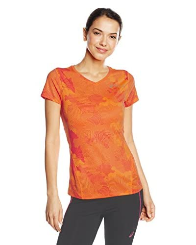 Asics T-Shirt Manica Corta Allover Graphic