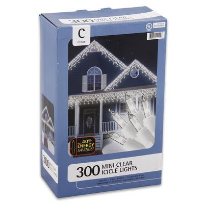Set of 300 Energy Saving Indoor or Outdoor Clear