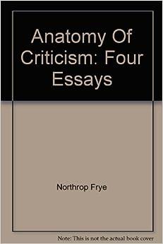 northrop frye four essays