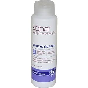ABBA Pure Volumizing Shampoo, 8.45-Ounce Bottles (Pack of 2)