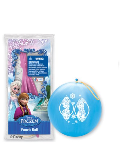 Pioneer National Latex Disney Frozen 6 Punch Balls, Assorted