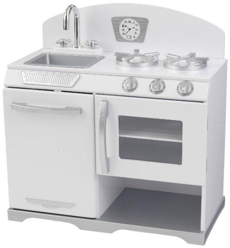 jeux et jouets kidkraft 53234 jeu d 39 imitation cuisine r chaud r tro blanc meilleures. Black Bedroom Furniture Sets. Home Design Ideas
