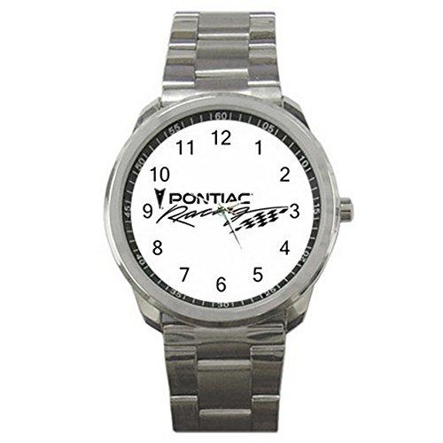 Pontiac Nascar Racing 9WLGO688 Men's Wristwatches Stainless Steel (Nascar Pontiac compare prices)
