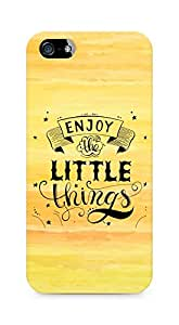 AMEZ enjoy the little things 2 Back Cover For Apple iPhone 5s