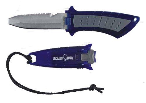 Scuba Max Kn-141 304Ss Scuba Knife Blue