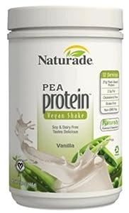 Naturade Pea Protein, Vanilla, 15.66 oz.