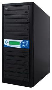 EZ Dupe 7-Target DVD/CD 24X Duplicator GS7SOB Black