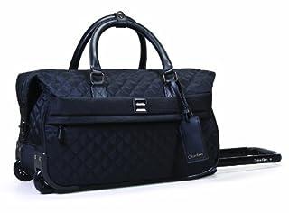 Calvin Klein Hawthorne Wheeled City Bag, Noir, One Size