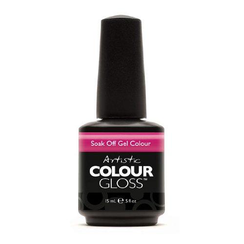 Artistic Nail Design Soak Off Colour Gloss Polish Violet Manicure 03064 Manic