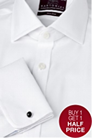 Sartorial Pure Cotton Non-Iron Twill Shirt