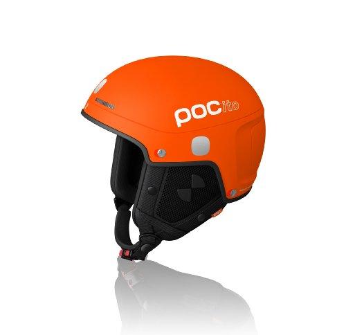 POC Skihelm Pocito Light, fluorescent orange, 51-54  cm, 10150