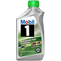 6-Pack Mobil 1 96995 0W-20 Synthetic Motor Oil, 1 Quart