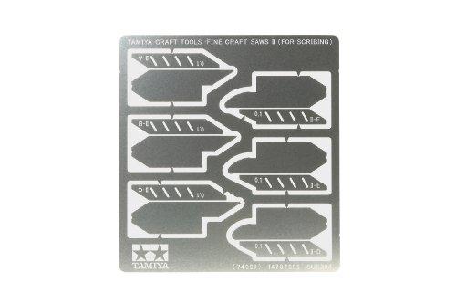 Tamiya - 74097 - Accessoire Pour Maquette - Scies Fines A Détourer